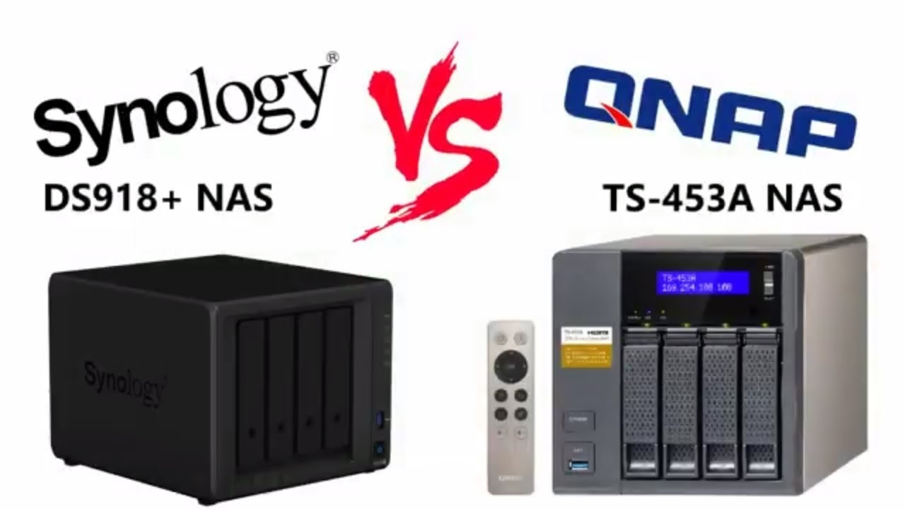 Synology Vs QNAP - The DS918+ Vs the TS-453A - Old v New Flagship Faceoff
