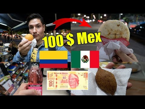 $100 Pesos Mexicanos EN COLOMBIA❗️ ¿QUE SE COMPRA? 💵