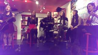 """Cimorelli - """"Easy to Forget Me"""" at the Awesomeness TV space in LA"""