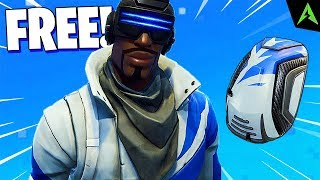 "NEW SKIN * FREE * ADDED ""BLUE STRIKER"" IN FORTNITE!"
