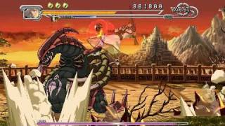 Guilty Gear Judgment - Stage 4 boss