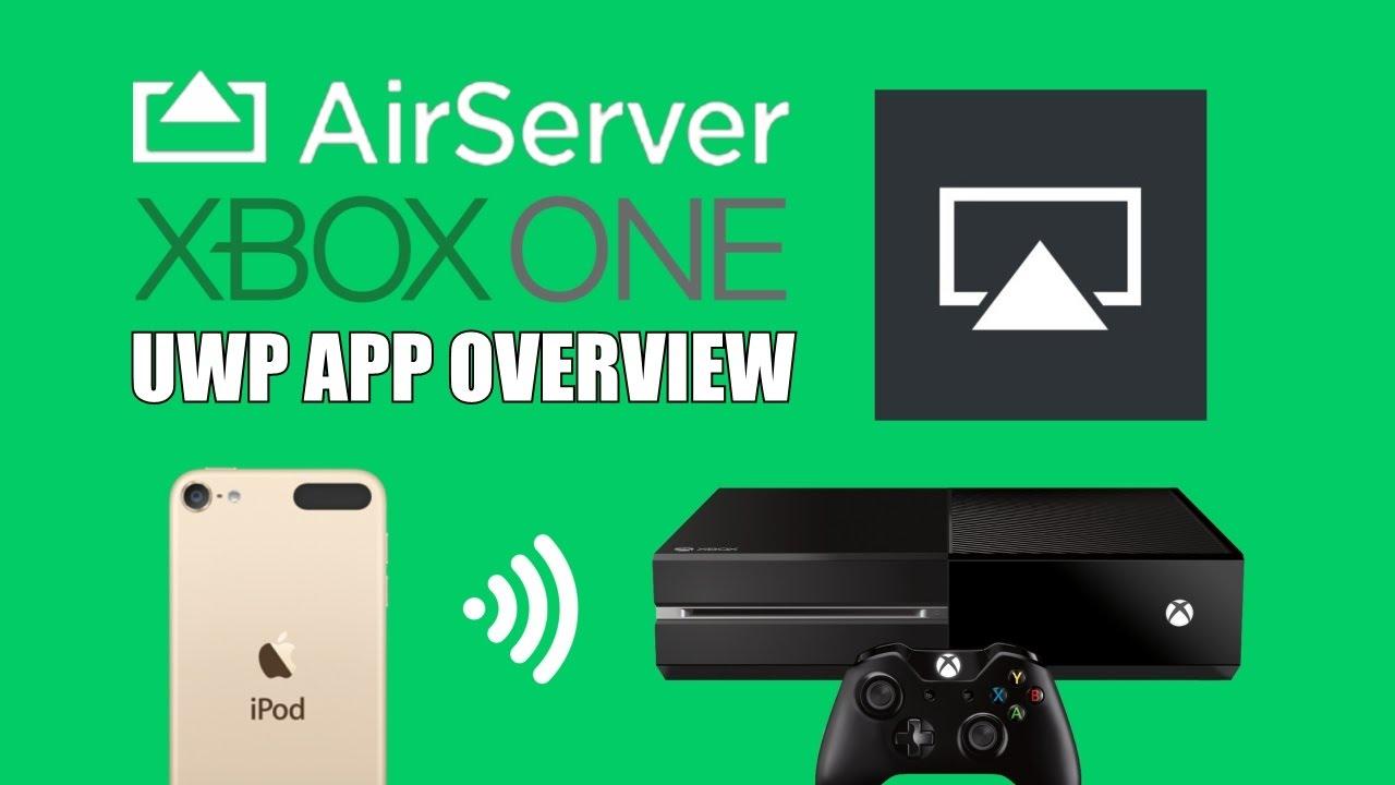 Airserver code xbox one