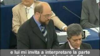 Berlusconi at the European Parliament - eng subs (part2)