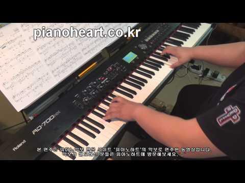 [별그대ost] 성시경(Sung Si Kyung) - 너의 모든 순간(Every Moment Of You) 피아노 연주