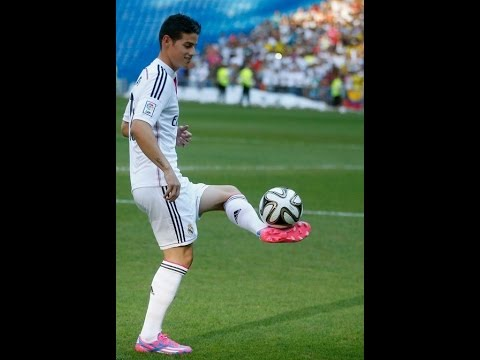 James Rodriguez skills Freestyle финты Хамеса