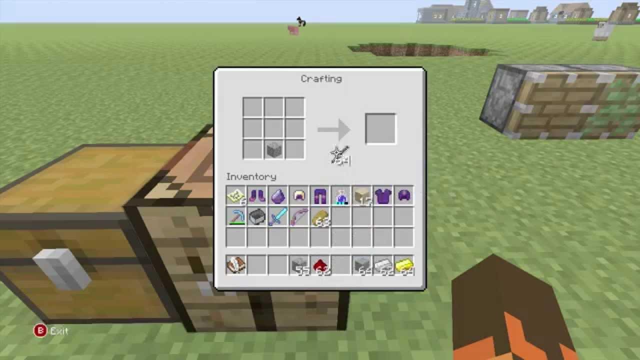 Minecraft Xbox Classic Crafting Recipes: Redstone YouTube