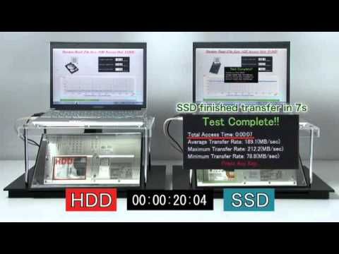 SSD vs HDD - File Transfer Speed Test