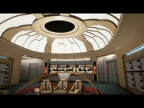Stage9 v 0.0.7 - Full Recreation of the Enterprise-D in Unreal Engine 4 - No Commentary Walkthrough