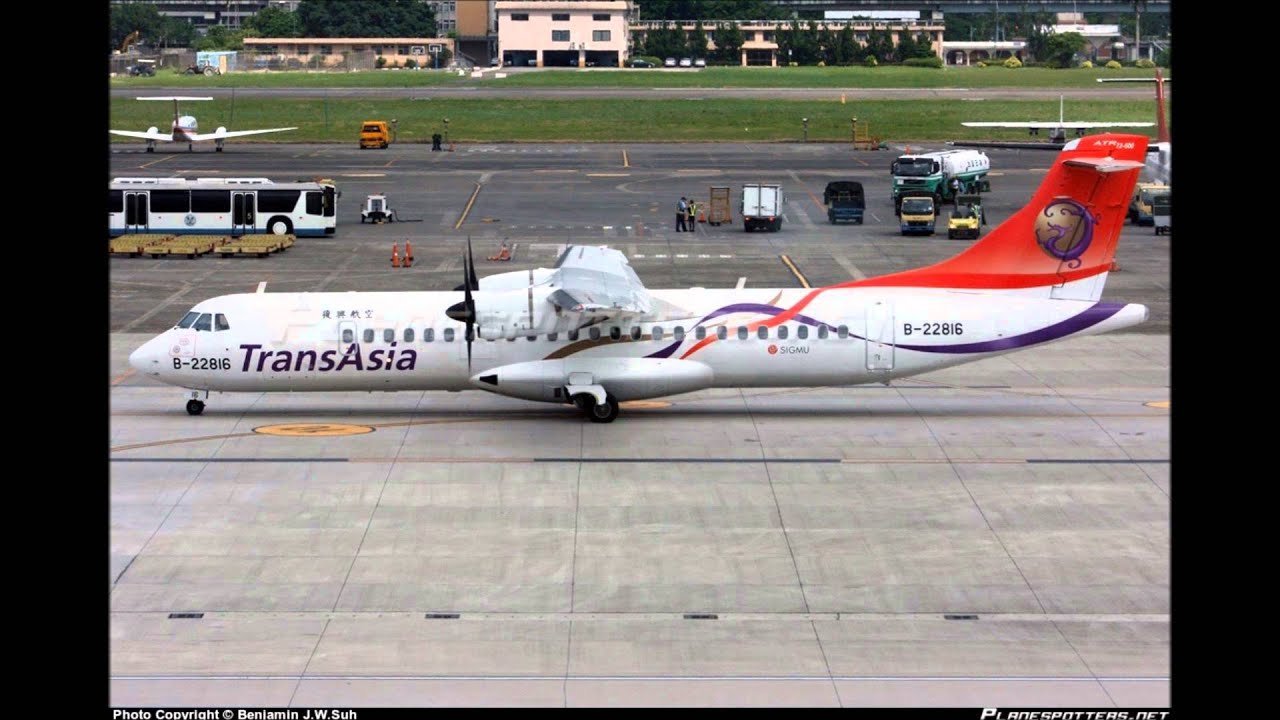 ATC - TransAsia 235 - [Stall after Take-Off 1) 2)] 4 February 2015 - YouTube