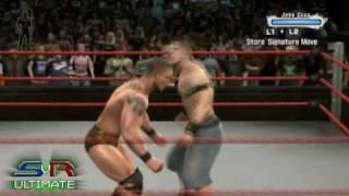 Smackdown Vs. Raw 2009: Online - Randy Orton vs. John Cena (stefan_mueller00) - PS3