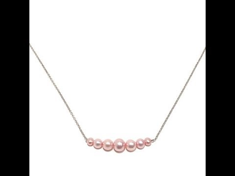 0bef02d44b73fd Imperial Pearls Cultured Freshwater Pearl Necklace - YouTube