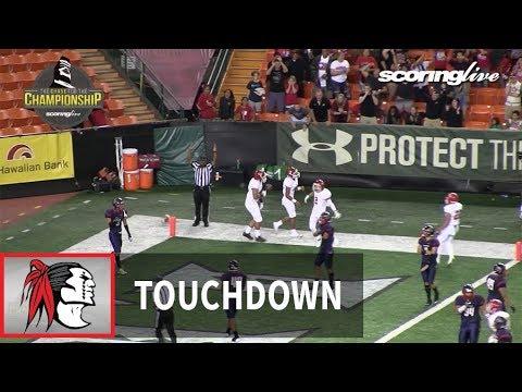 ScoringLive: Kahuku vs. Saint Louis - Thorton Alapa, 5 yard pass from Sol--Jay Maiava