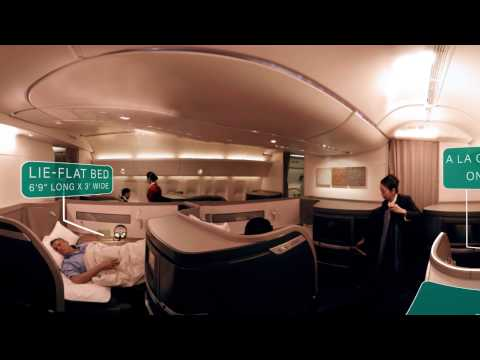 Cathay Pacific Airways 360 - Cabin experience