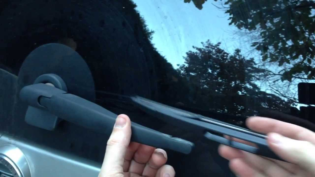 How To Ford Escape Mercury Mariner Mazda Tribute Rear Windshield Wiper Replacement   Youtube