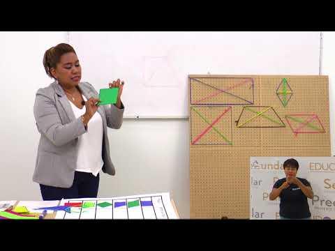 Primaria 3º y 4º Clase: 159  Tema: Diagonales y ejes de simetría en cuadriláteros