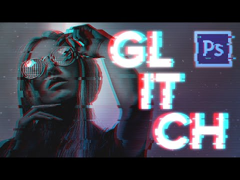 Glitch Effect Photoshop Tutorial