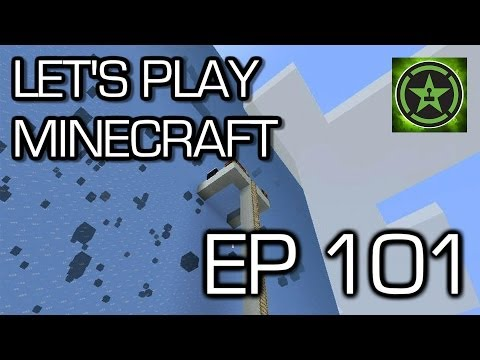 Let's Play Minecraft: Ep. 101 - Ice Cube