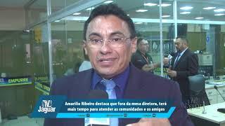 Amarílio destaca que fora da mesa diretora, terá mais tempo para atender as comunidades e os amigos