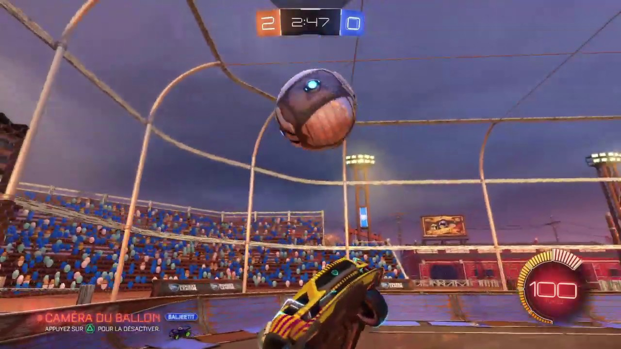 Rocket League live PS4 FR - No Mic