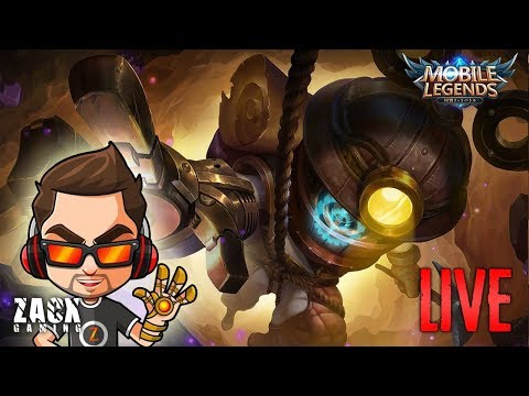 MOBILE LEGENDS [26-05-2018] ! Live Streaming - ZacxGaming