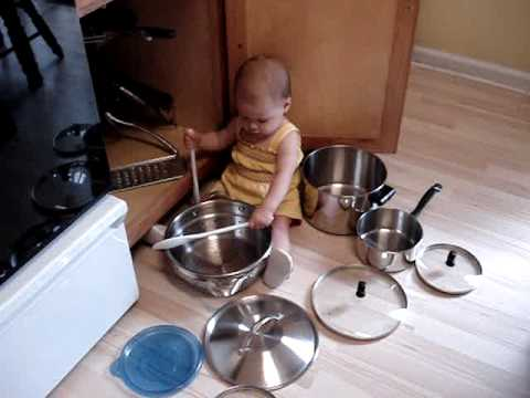 Pots And Pans Baby Youtube