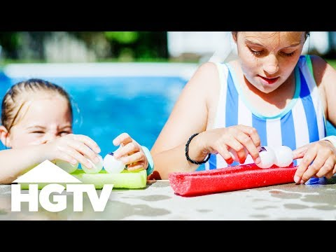 DIY Dollar Store Pool Games - HGTV Happy
