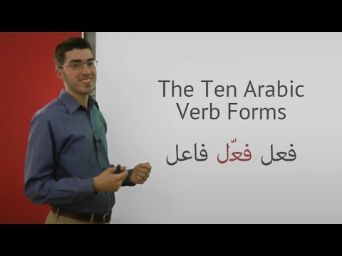 Introduction to the Ten Arabic Verb Forms   Part 1