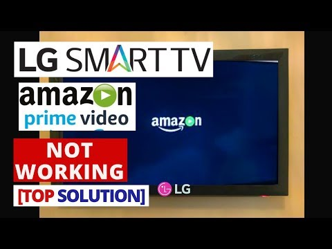 How To Fix Prime Video App Not Working On LG Smart TV || Prime Video Stopped Working On LG TV