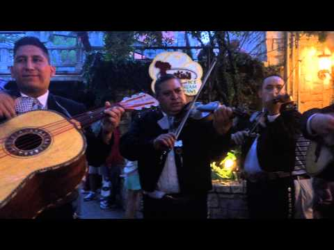 Mariachi band on the Riverwalk in San Antonio