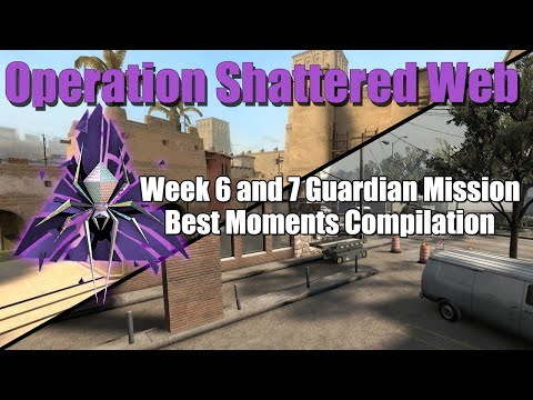 CSGO Shattered Web Guardian Mission Funny Moments Week 6 And 7 (CSGO FUNNY MOMENTS)