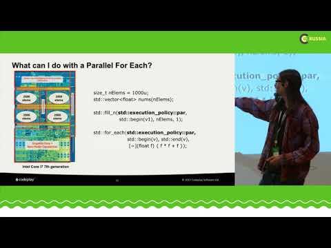 C++ Russia 2018:  Simon Brand,  Modern C++ Parallelism From CPU To GPU
