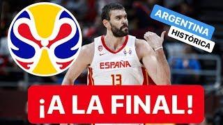 ESPAÑA VS AUSTRALIA + ARGENTINA VS FRANCIA: ¡HISTORIA DEL MUNDOBASKET 2019!
