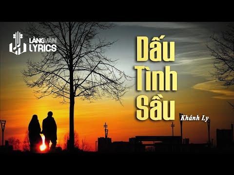 Dấu Tình Sầu | Khánh Ly | Official Karaoke