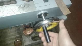 Самодельный токарный станок по металлу. Краткий обзор.