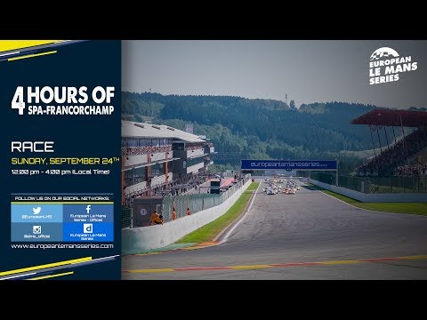 REPLAY - 4 Hours of Spa-Francorchamps 2017 - Race
