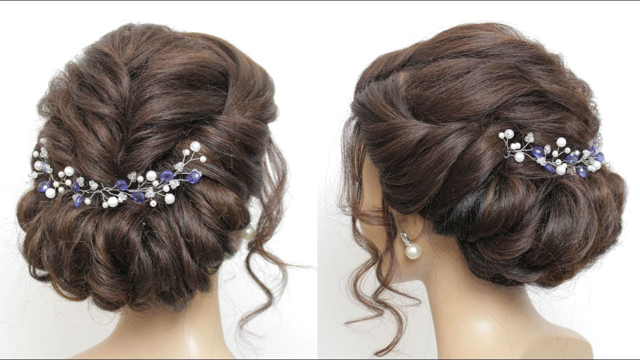 Wedding Prom Updo Tutorial Formal Hairstyles For Long Hair