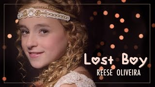 Peter Pan - LOST BOY (Ruth B) cover by Reese Oliveira SUPER CUTE! Best Lost Boy video!