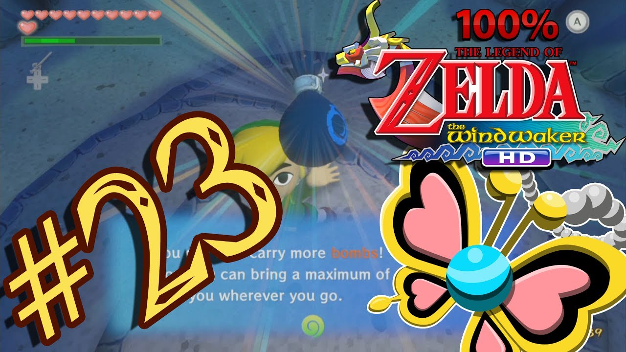 The legend of zelda the wind waker hd 100 part 23 big bomb bag the legend of zelda the wind waker hd 100 part 23 big bomb bag easy way to farm joy pendants mozeypictures Choice Image