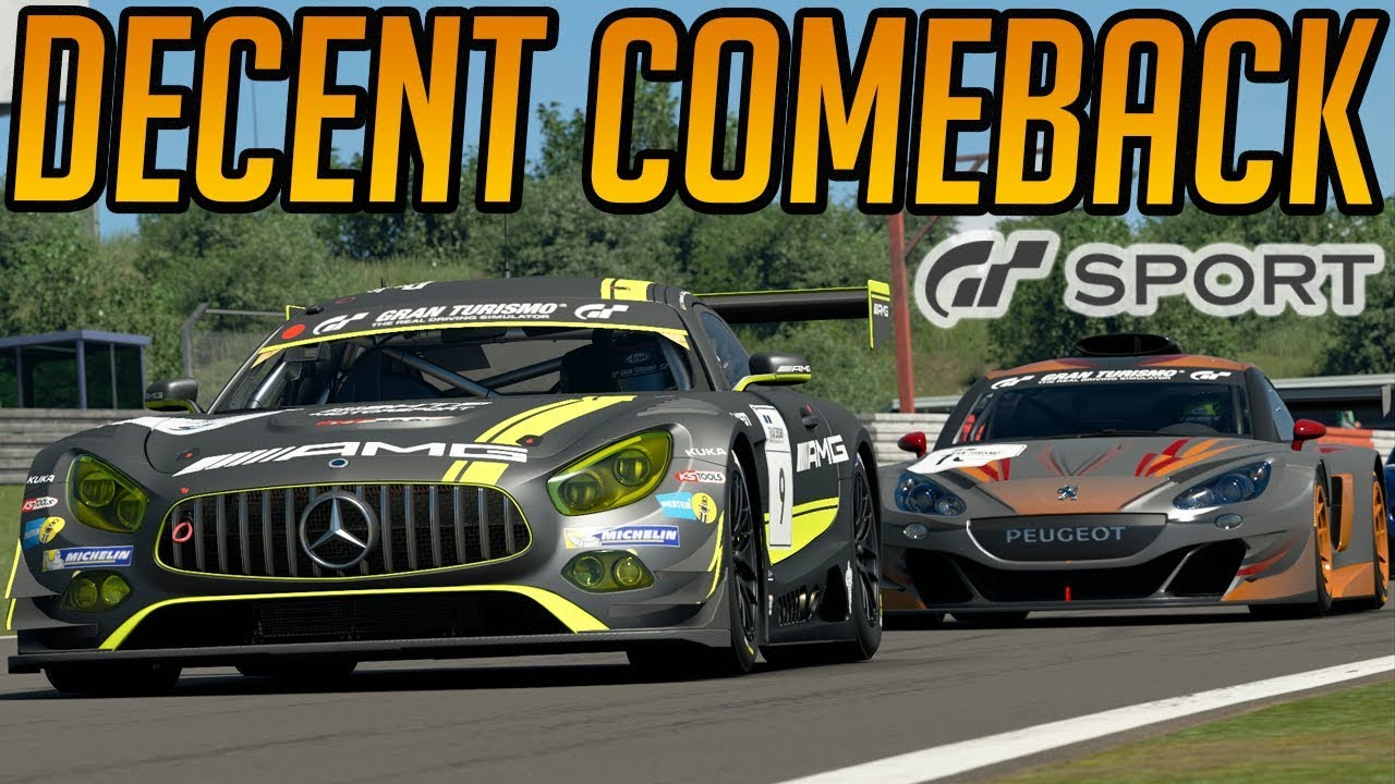 gran turismo sport fighting back through the pack youtube. Black Bedroom Furniture Sets. Home Design Ideas