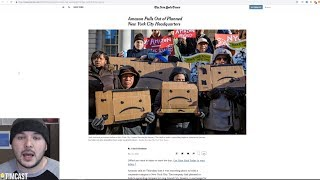 Amazon HQ Driven Out of NYC, People are FURIOUS