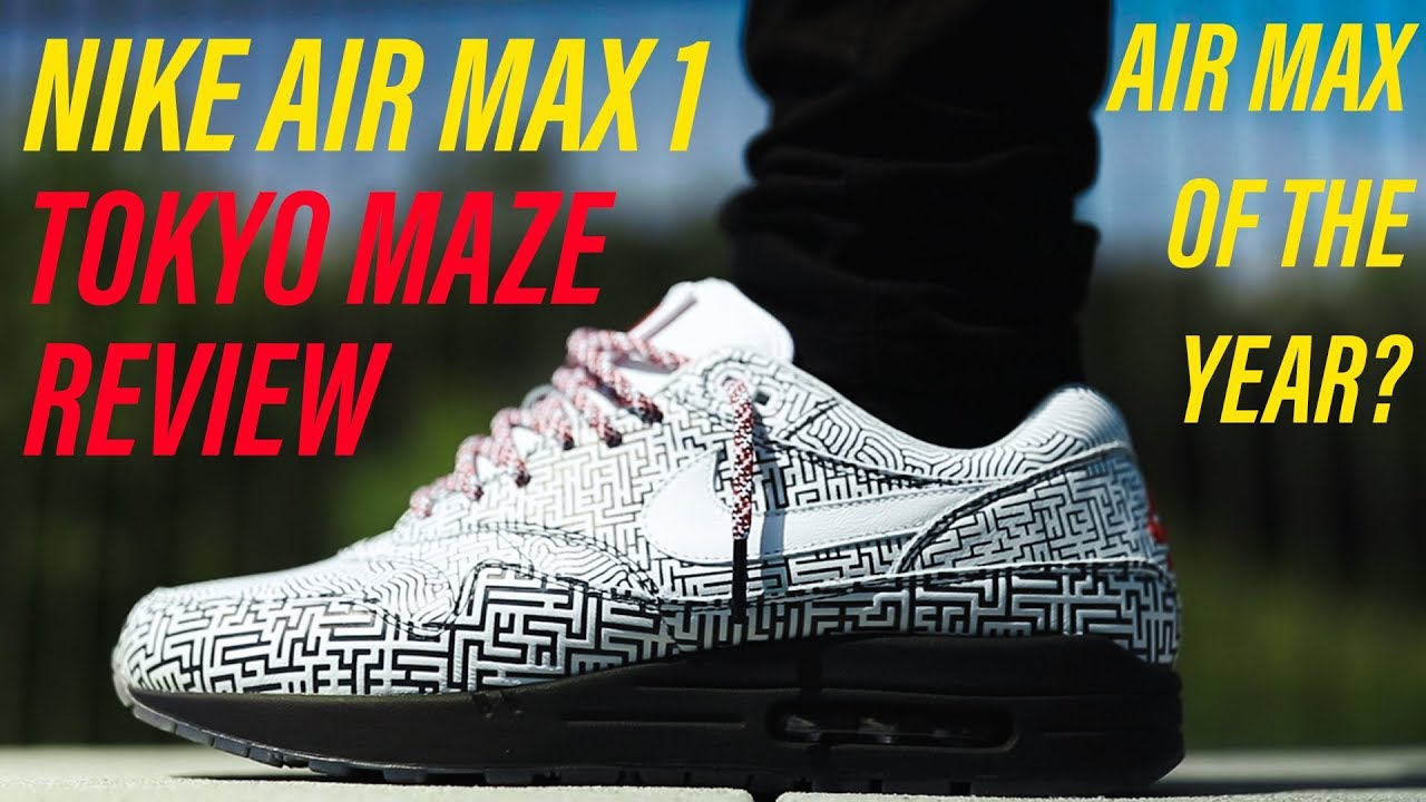 Nike Air Max 1 Tokyo Maze In depth On Feet Review + Unboxing