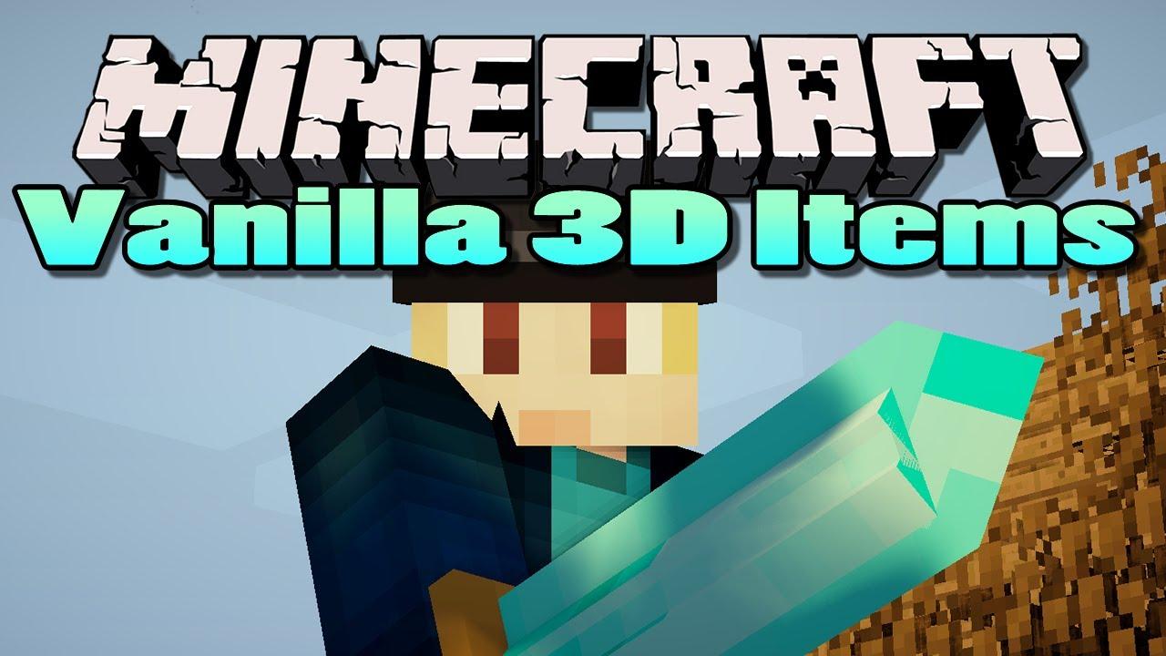 Minecraft: Vanilla 12D Items Mod