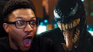WE ARE VENOM | Venom Official Trailer Live Reaction