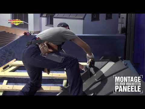 Montageanleitung für Dachpaneele mit Stehfalz - Teil 7