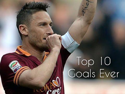 Download Francesco Totti  - Top 10 Goals ever |HD|