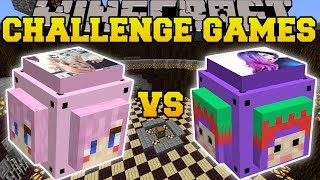 Minecraft: LDSHADOWLADY VS IHASCUPQUAKE CHALLENGE GAMES - Lucky Block Mod - Modded Mini-Game