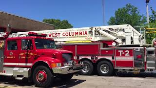 A message from West Columbia Fire Chief Chris Smith