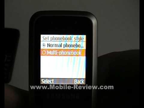 Review Samsung E1100/E1120 Part 2 Rus