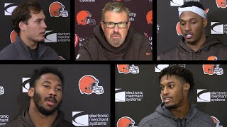 Stopping the Falcons potent offense: Voices from the Browns locker room