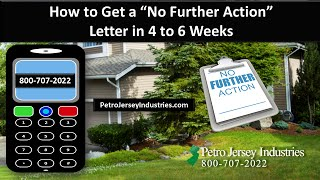 How to Get a No Further Action Letter in 4 to 6 Weeks New Jersey Real Estate
